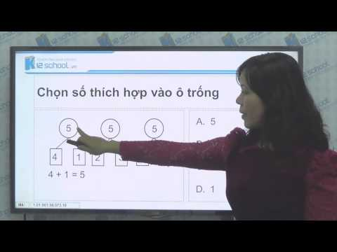 [Toán tiểu học] [Toán 1, Toán lớp 1] - Bảng cộng và bảng trừ trong phạm vi 10 - [LIKA-K12School]
