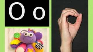ABC song/ASL alphabet - American version