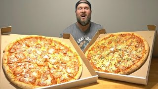 "GIANT 21"" Pizza Food Challenge"