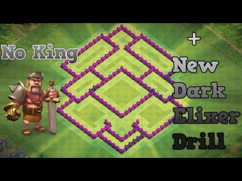 CLASH OF CLANS - TH7 HYBRID BASE BEST TOWN HALL 7 Defense Without The Barbarian KING