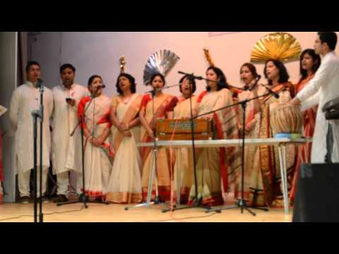 Group song Croydon Saraswati Puja