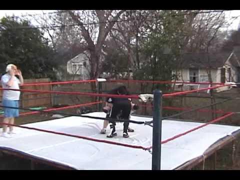 backyard wrestling i o v vs supermex w a w hardcore holidays