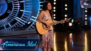 Carly Moffa Auditions for American Idol With Original Song - American Idol 2018 on ABC