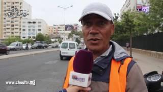 بالفيديو..بسبب رخصة..حارس سيارات حرق راسو فكازا |