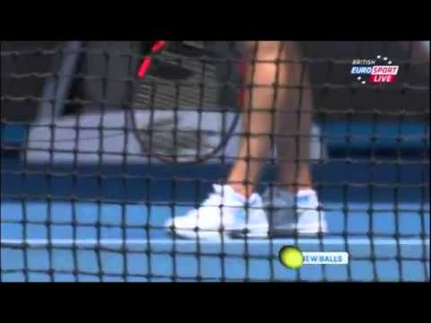 Serena Williams vs Vesna Dolonc Australian Open 2014 Round 2 Part 1
