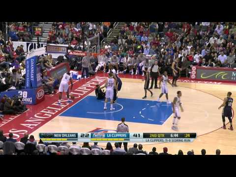 New Orleans Pelicans vs Los Angeles Clippers | March 1, 2014 | NBA 2013-14 Season