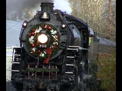 HD SP&S 700 Holiday Express Train 12-2-12 (New)