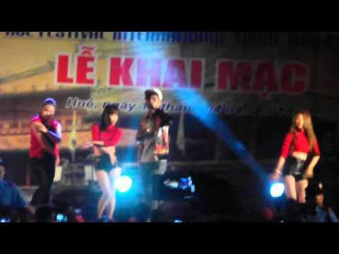 Hồ Quang Hiếu- Festival Huế 2014- Thư Gửi Em Remix