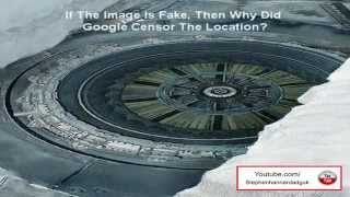Alien Base And Flying Saucer Found In Antarctica? 2013 HD