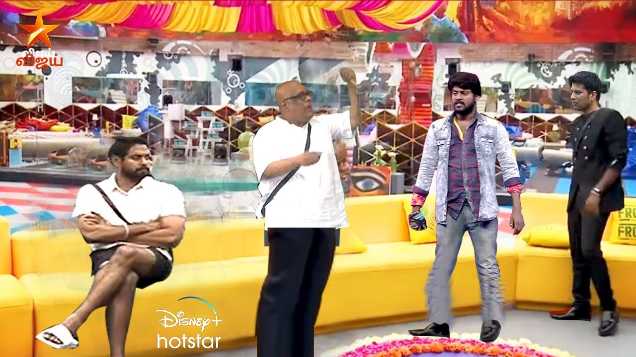 Biggboss Tamil 4 |Day 15| 19th October 2020 Promo 2 |rio angry |suresh chakravarthy | fight