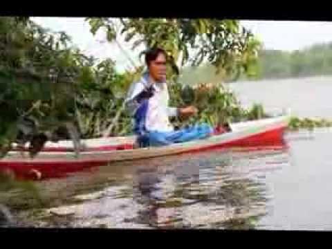 Mancing udang galah di ujung sungai sejenuh,Kalimantan barat 1-2 maret 2014
