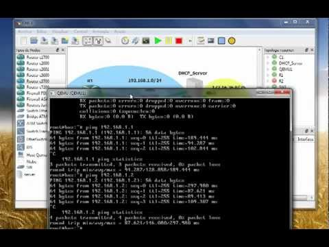 Cisco Router DHCP Server en GNS3