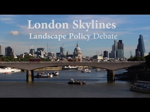 Landscape Institute LI London Branch Skylines Policy Debate 23rd October 2013