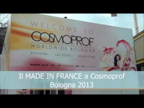 VIDEO - Il Made in France a COSMOPROF 2013