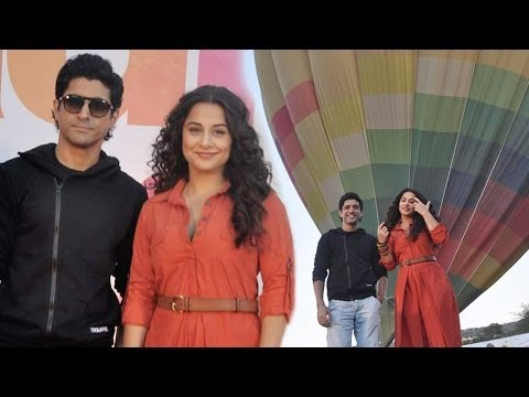 Vidya Balan And Farhan Akhtar Promote Shaadi Ke Side Effects