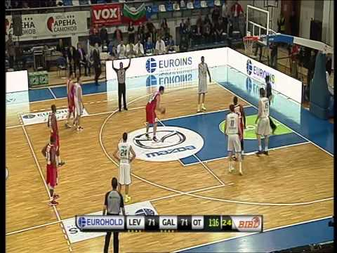 Highlights of EUROHOLD Balkan League final game'2013, BC Levski - BC Gilboa Galil