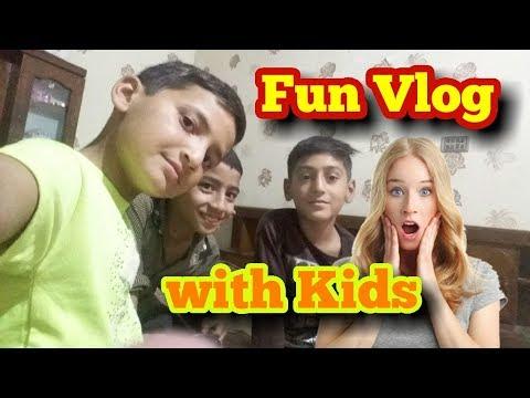 Funny Vlog with Kids   The End of fun   Fun ki Akheer