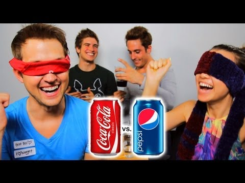 COKE VS PEPSI CHALLENGE!, Watch Joey and Sawyer! http://youtube.com/watch?v=Sn7Sy1w14Xc Previous vlog! http://youtube.com/watch?v=SWBAKetWS4c Follow me on Twitter! http://twitter.com/...