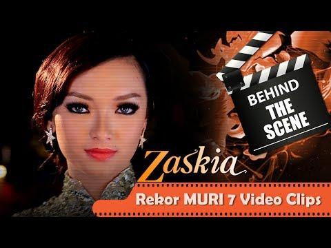 ZASKIA | BEHIND THE SCENE | REKOR MURI
