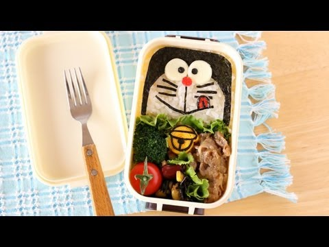 doraemon bento lunch box ochikeron create eat happy youtube. Black Bedroom Furniture Sets. Home Design Ideas
