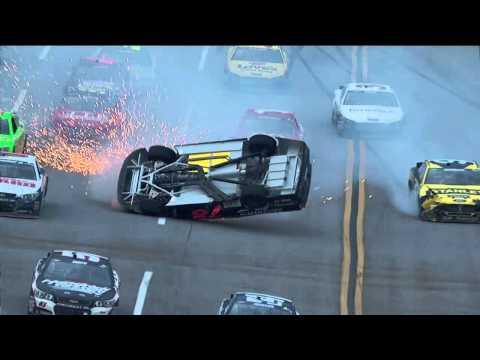 Kurt Busch's CRASH at Talladega 2013!