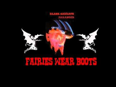 fairies wear boots basement black sabbath