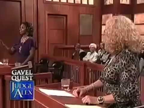 Judge Alex Episode Black Woman vs White Woman