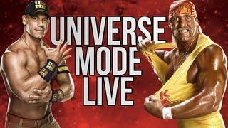 WWE 2K14 UNIVERSE MODE LIVE!