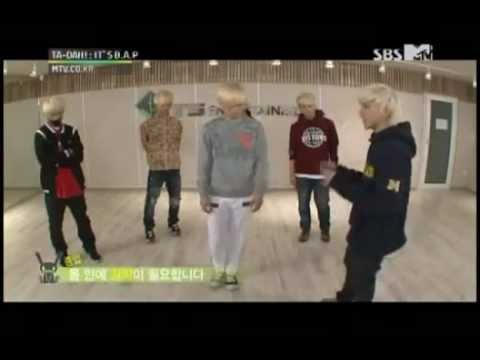 B.A.P teaches &quot;Warrior&quot; Choreography
