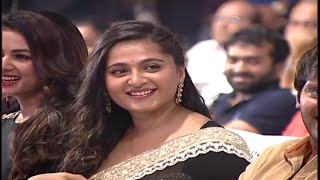 Actress Anushka's grand entry at 'Size Zero' Audio Launch