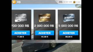 Real Racing 3 Argent Illimité IPhone/iPad/iPod Touch