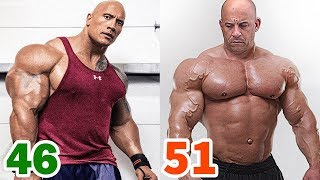 The Rock vs Vin Diesel Transformation ★ 2018