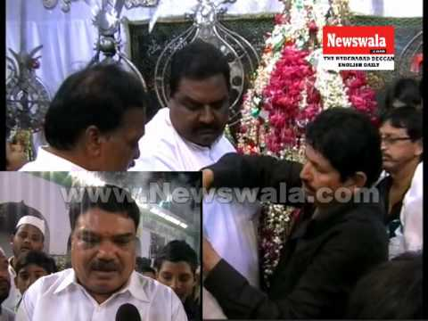 Deputy mayor Hyderabad G. Raj Kumar visited Bibi Ka Alawa during Muharram 2013