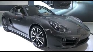 New Porsche Cayman 2013 World Premiere LA Auto Show In Detail Commercial Carjam TV videos
