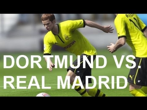 Borussia Dortmund vs Real Madrid - FIFA 13 Prono