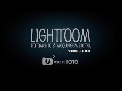 Curso online de maquiagem digital no lightroom por Daniel Farjoun