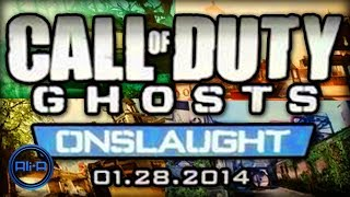 "Call of Duty: Ghost ""ONSLAUGHT"" DLC - NEW Gun, ALL Maps & Extinction Nightfall! - (COD Ghosts)"