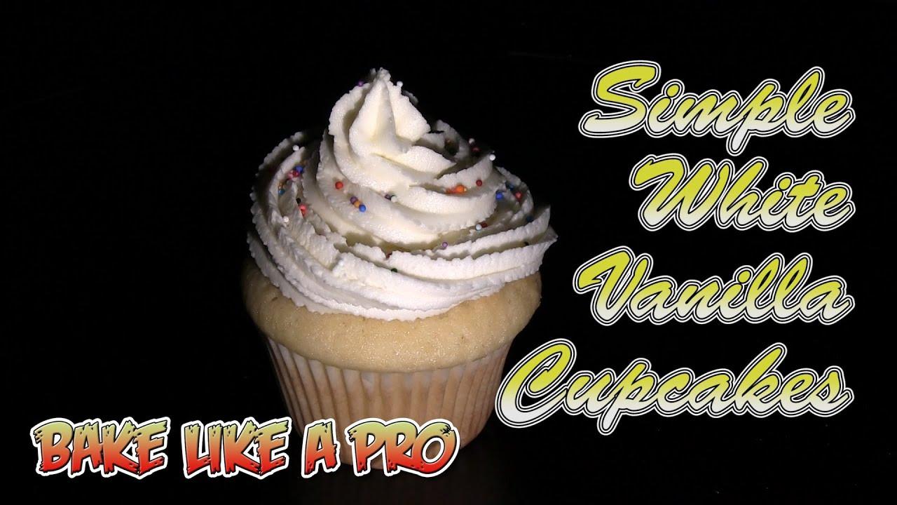 Simple White Vanilla Cupcakes with Wilton Buttercream ...