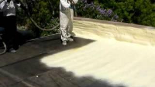 Sprey Polyurea ile çatı/teras su izolasyon