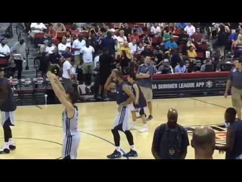 Yuki Togashi (Dallas Mavericks) - pregame shootaround