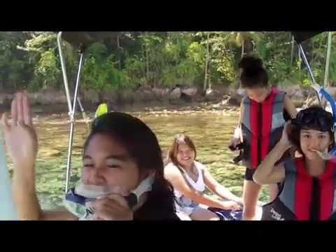 Philippines - Boat tour along Samal