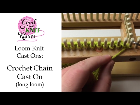 Knitting: How to Cast On - YouTube