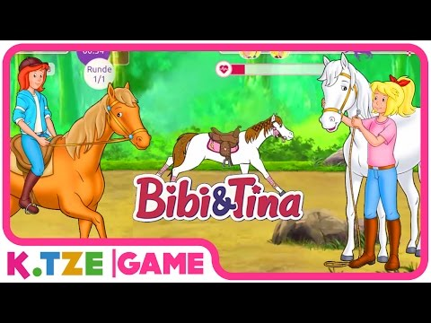 Bibi und Tina auf Deutsch 🐴 Ganze Folgen der Pferdeturnier App | Folge 1.