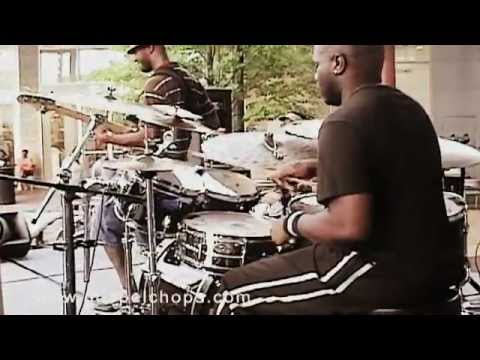 Jeremy Haynes Exclusive Feature @ GospelChops.com - Gospel Drums