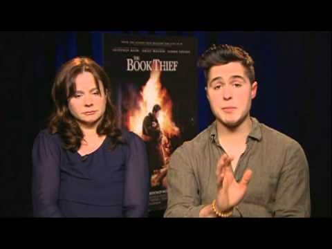 The Book Thief - Rose Hollywood Report interviews EMILY WATSON and BEN SCHNETZER