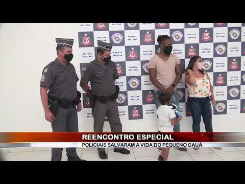09/09/2020 - Polícias Militares salvam criança de 3 anos após afogamento em Barretos