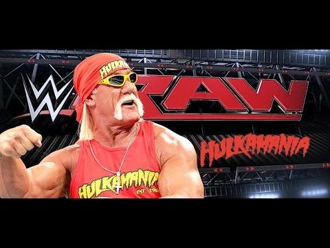 The immortal Hulk Hogan returns to WWE Monday Night Raw October 20th 2014