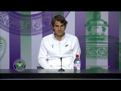 Roger Federer: 'it was a great match' - Wimbledon 2014 Final press conference