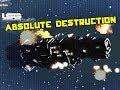 Space Engineers Absolute Destruction Ship Battle