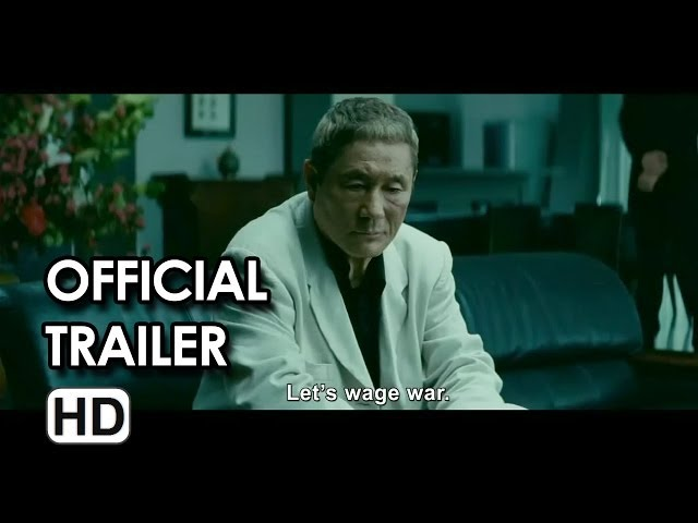 Beyond Outrage Official Trailer #1 (2014) - Japanese Crime HD